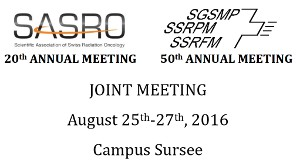 2nd SASRO-SSRMP joint annual meeting @ Campus Sursee | Sursee | Lucerne | Switzerland